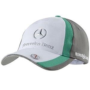 Cap formula one 1 petronas mercedes gp f1 team new for Mercedes benz hat amazon