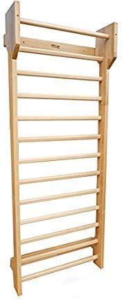 ARTIMEX - Espa;ldera gimnasia (escalera de sueco) para Ejercicios de Schroth, para terapia física y gimnasia – Espaldera de madera de haya, código 216-F-Schroth: Amazon.es: Deportes y aire libre