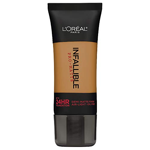 L'Oreal Paris Infallible Pro-Matte Foundation, Soft Sable [111], 1 fl. oz.