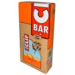 Clif Bar Energy Bar Apricot - CLIF Apricot Bar - Box of 12 - apricot, one size