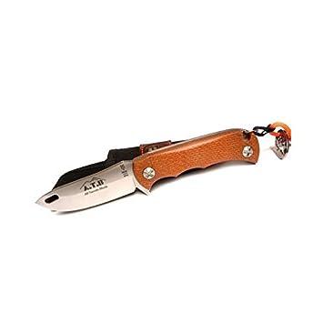 Electropolis Cuchillo de Caza Muela A.T.B. Hoja de 8,5 cm ...