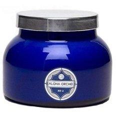 Aspen Bay Capri Blue Jar Candle 19 Ounce - Aloha Orchid