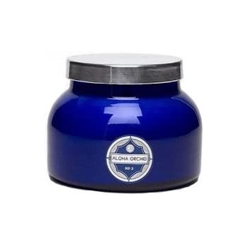 Aspen Bay Capri Blue Jar Candle 19 Ounce - Aloha Orchid