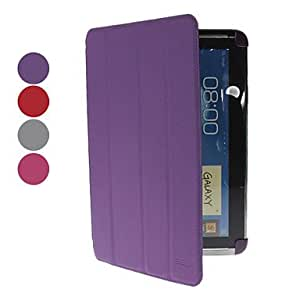 JOE Microgroove Pattern PU Leather Case with Stand and for Samsung Galaxy Note 10.1 N8000 (Assorted Colors) , Gray