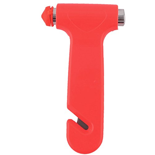uxcell Plastic Handle Car Auto Safety Emergency Break Hammer 133mm Long 2pcs by uxcell (Image #2)