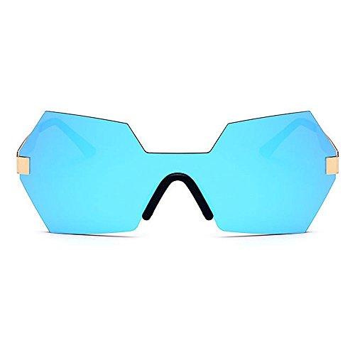 la Forma Que Aire Lente Gafas para de de Sol Protección de Gu Libre de Personalidad viaja al Peggy Que Color Sola C6 de Irregular UV conducen de Mujeres C4 una Pieza Color Bq8Xxw4