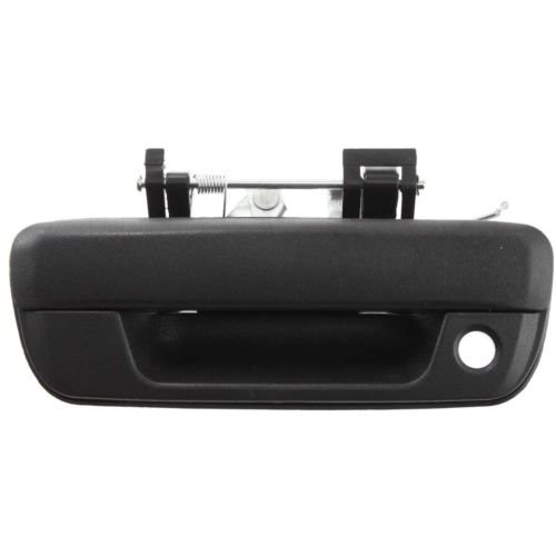 Make Auto Parts Manufacturing Exterior Textured Black Tailgate Handle With Keyhole For Chevrolet Colorado 2004-2012 / For GMC Canyon 2004-2012 - GM1915118