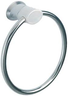 Ring-Handtuchhalter NATURE wei/ß chrom Handtuchring /…