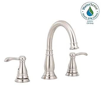 Delta Porter 8 Inch Widespread 2-Handle Bathroom Faucet