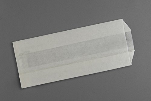 1# Popcorn Bag, Plain White, 3-1/2