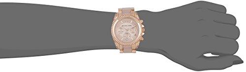 c372a9665e35 Michael Kors MK5943 Ladies Blair Rose Gold Plated Chronograph Watch ...