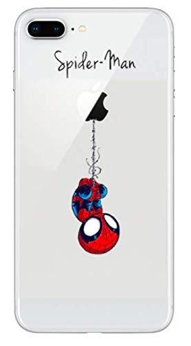 coque iphone 8 marvel silicone