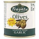 Fragata Spanish Olives Stuffed With Garlic 200G