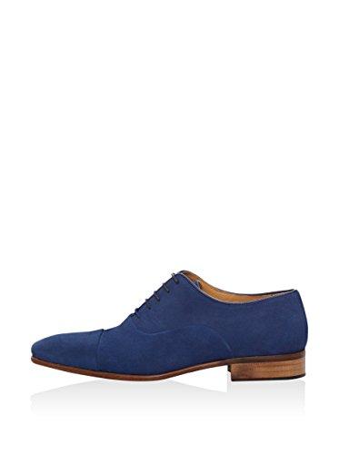 Ortiz & Reed Shirack, Zapatos de Cordones Oxford para Hombre Azul Marino