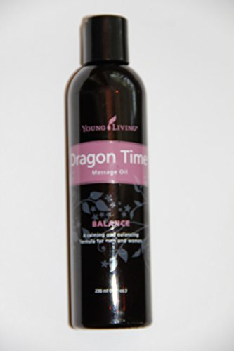 Dragon Time Massage Oil  8 fluid ounces by Young Living Esse