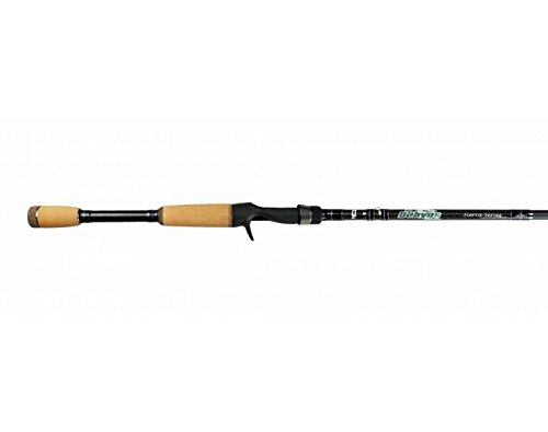 (Dobyns Rods Sierra Series 703C Sierra Series 7' Medium Heavy Casting Rod SA 703C, Black/Sage Green)