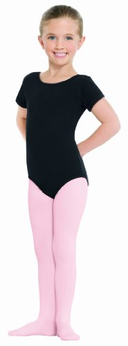 Euroskins 215c Child Footed Tights (Theatrical Pink, X-Small)
