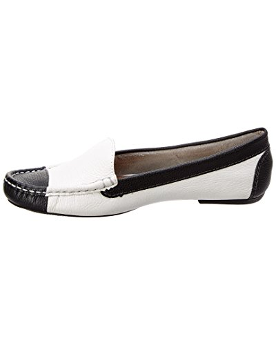 French Sole Christie Leather Flat, 7, White