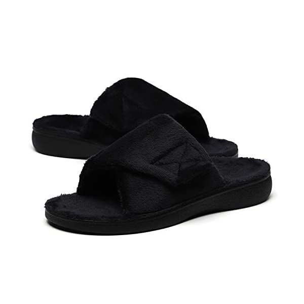 Sollbeam Fuzzy House Slippers