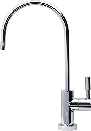 APEC Water Systems FAUCET-CD-CP Ceramic Disc Designer Faucet (Chrome Bright) Non-Air Gap Faucet by APEC Water Systems (Image #2)