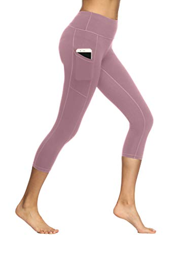 Yoga Pants - Fengbay Capris Leggings, Capris Yoga Pants Tummy Control Workout Running 4 Way Stretch High Waist Capris Workout Leggings