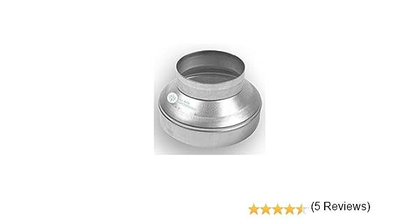 Acople Vents Reductor/Reducción para Extractor de aire/Tubo (200mm/150mm): Amazon.es: Hogar
