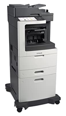 Lexmark MX812DXE Monochrome Printer with Scanner, Copier and Fax - 24T7439