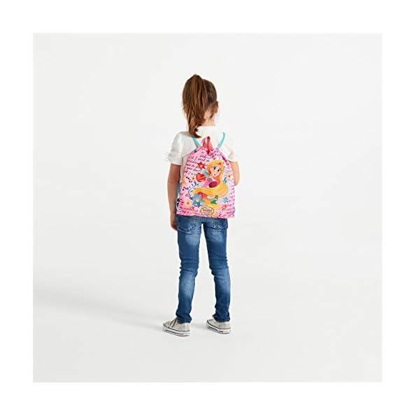 Disney-Rapunzel-Zainetto-per-bambini-34-cm-046-liters-Multicolore-Multicolor