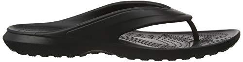 – Unisex Adulto Flip Crocs Nero Ciabatte Black Classic 1qRS7nfwC