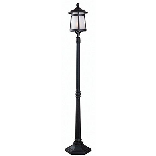 Indoor Lamp Post (Kenroy Home 93431BL Portable Post 1 Light Lantern)