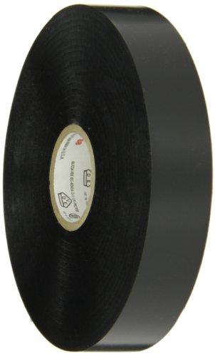 Scotch Vinyl Electrical Tape Super 88, 3/4 in x 36 yds, Black, 12 Rolls/Carton, 48 Rolls/case -