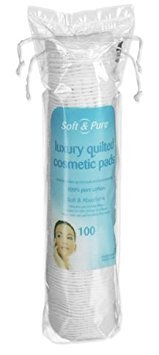 Soft & Pure Round Cosmetic Pads, Pack of 100 Robinson Healthcare