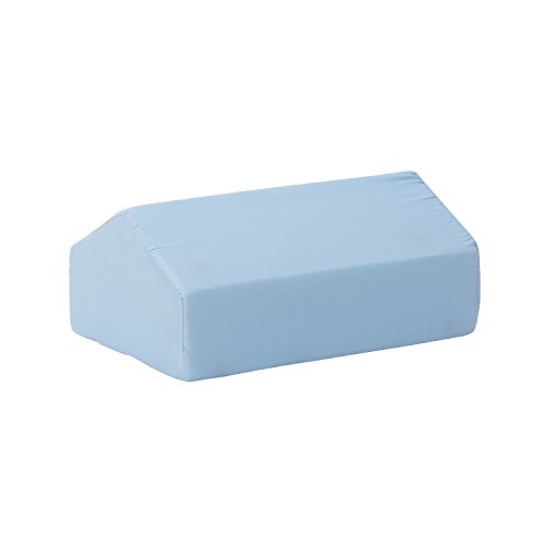DMI Elevating Leg Rest Cushion Foam Pillow, 17 x 10 x 7 inches, Blue
