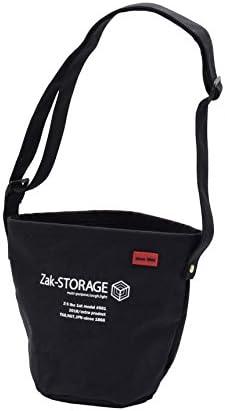 高儀(Takagi) 布バスケット Zak-STORAGE クロスバケット 丸 ブラック S CBC-100SB