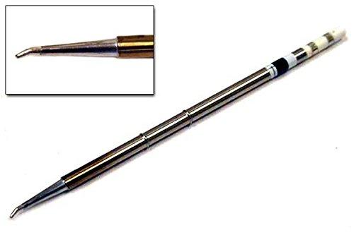 Hakko T15-1605 Tip, Bent Chisel, 1.5mm/30° x 3mm x 19mm
