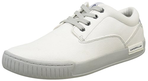 Caterpillar ZIMZALA CANVAS Herren Sneakers Weiß (Mens Star White)