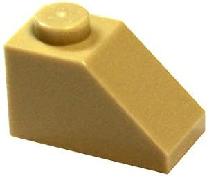 LEGO Parts and Pieces: Tan (Brick Yellow) 1x2 45° Slope x200