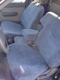 Durafit Seat Covers, Made to fit 1995-2000 Tacoma 60/40 Split Bench Custom Seat Covers. Gray Blue Automotive Twill. Save Now, Custom fit with arm and Headrest Covers