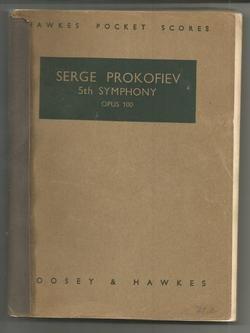 Serge Prokofiev Fifth Symphony Opus ()