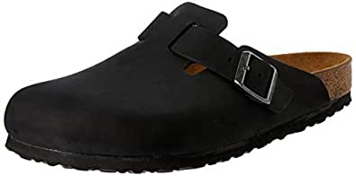 Birkenstock Australia Women's Boston Clogs, Black, 38 EU