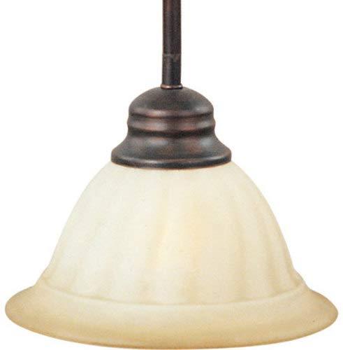 WSOI Marin - One Light Mini-Pendant, Oil Rubbed Bronze Finish with Wilshire Glass ()