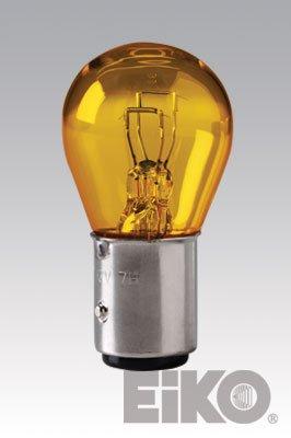 **10 PACK** Eiko 1157A Miniature Light Bulb, Amber - Amber Miniature Eiko Light Bulb