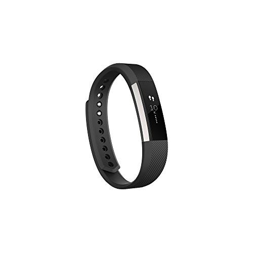 Fitbit Alta Wireless Activity and Fitness Tracker Smart Wristband, Black, Large (6.7-8.1 in) (Renewed)