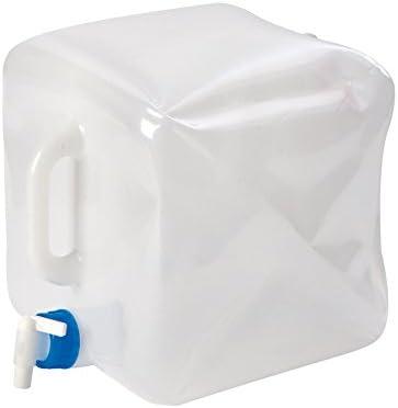 Bo-Camp - Bidón Plegable 15 litros, 21 x 21 x 23 cm