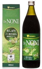 Dr.NONI ドクターノニ生しぼり100%ジュース900ml×2 6476 P12 B00BVUOYC8