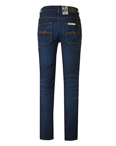 Nudie Jeans Grim Tim Slim Regular Fit Jeans 32L Crispy Secrets