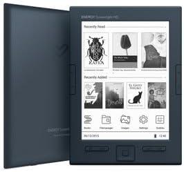 Energy Sistem - Lector de libro electrónico con luz de pantalla HD ...