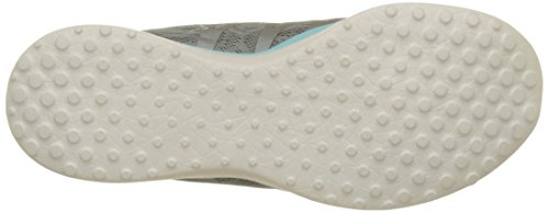 Gris Microburst Running Chaussures Showdown Femme Skechers Grey de Blue cYPB1ncq