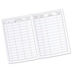 brand new guildhall vehicle mileage log book 60 pages 149x104mm