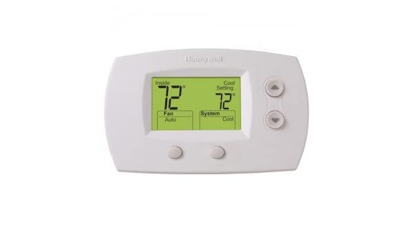 TH5220D1003 Thermostat FocusPRO 5000 Non-Programmable - Standard Screen-2PK - - Amazon.com